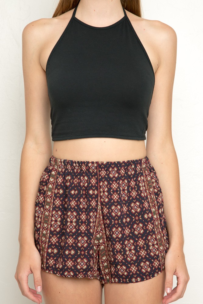 Brandy Melville Anastasia Halter Top Black The Lifestyle Reporter