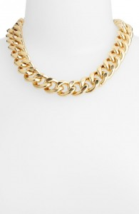 Nordstrom Curb Link Collar Necklace
