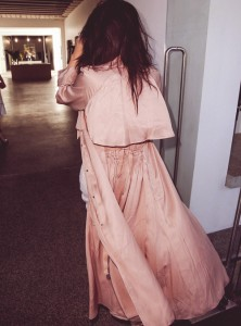 Back of Kim's Pastel Duster