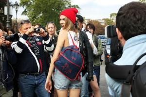 Cara Delevingne Red Beanie Profile Photo The Lifestyle Reporter
