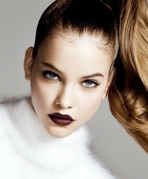 Barbara Palvin Dark Red Vamp Lips The Lifestyle Reporter