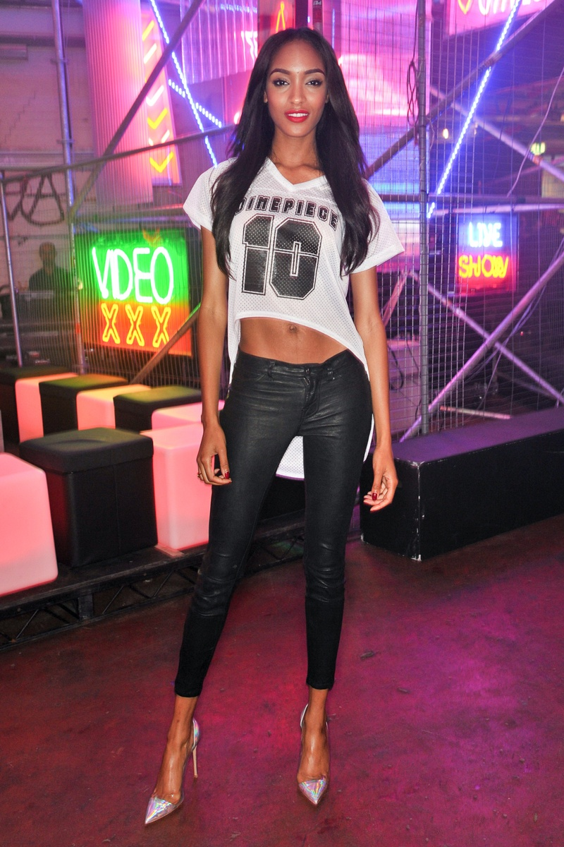 Jourdan Dunn Dimepiece Jersey The Lifestyle Reporter