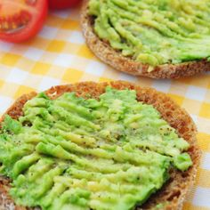 English Muffin Avocado Breakfast
