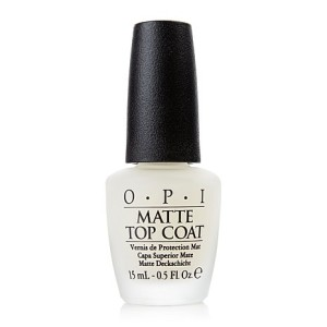 OPI Matte Top Coat The Lifestyle Reporter