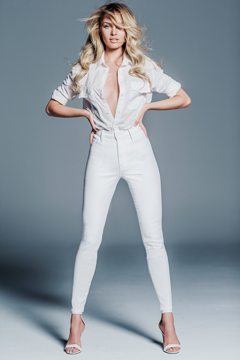 Candice Swanepoel Mother Denim Collection