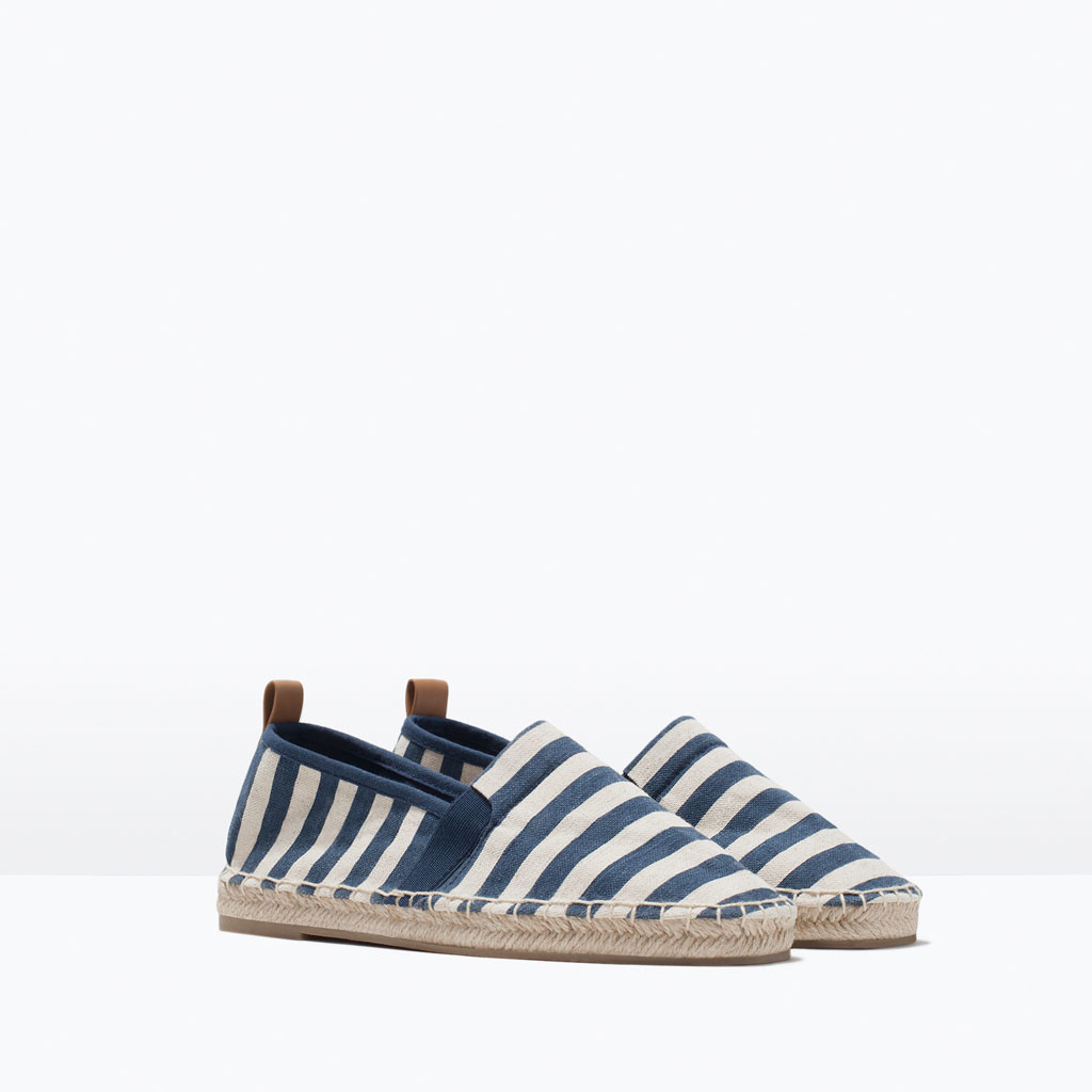 Zara Striped Espadrilles