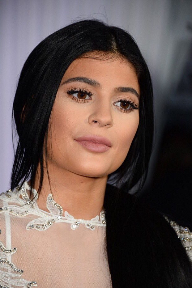 Kylie Jenner Cannes Pink Lips Makeup Inspired