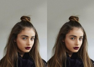 Taylor Hill Half Top Knot