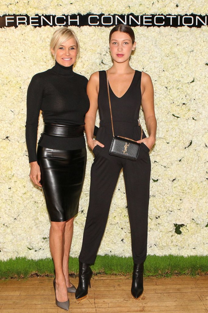 Bella Hadid All Black Look Jumpsuit Model Style