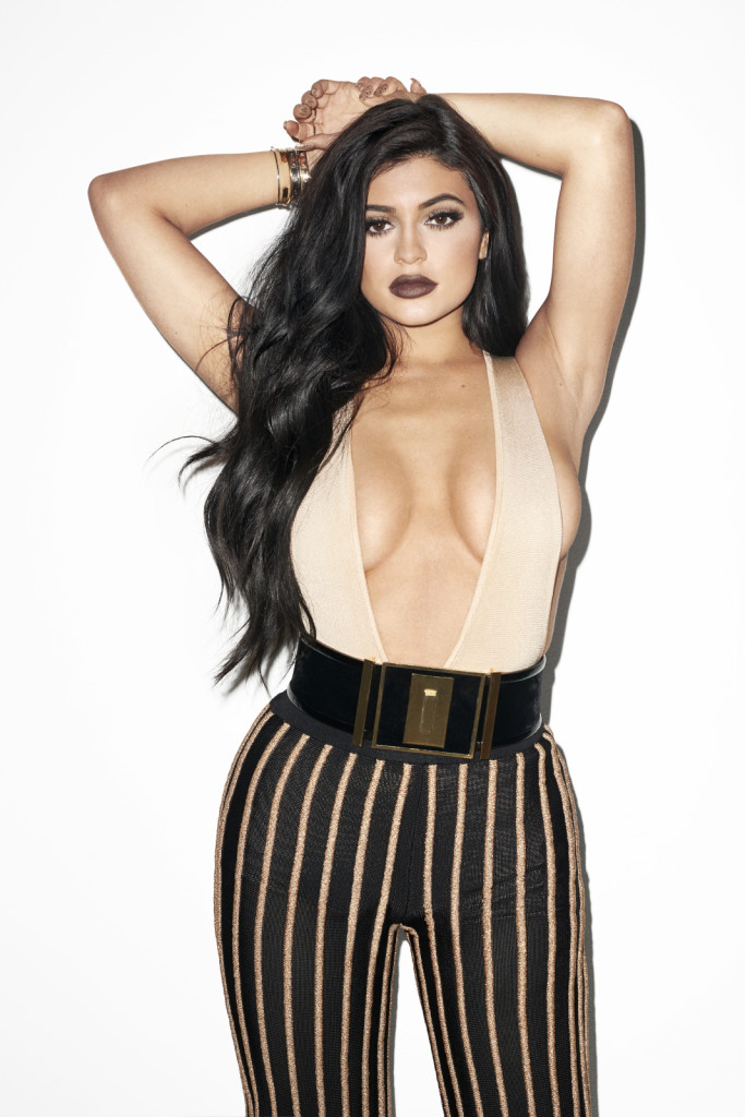 Kylie Jenner Galore Mag Balmain Outfit