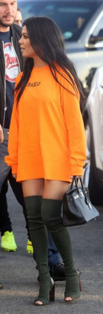kourtney-kardashian-oversized-shirt-thigh-high-boots