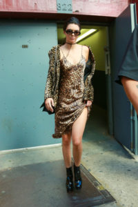 kendall-jenner-leopard-dress-and-jacket-model-style